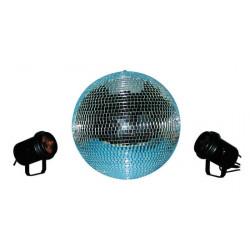 Kit luz electrica disco 1 b40 + 2 pf + 2 par36 + 1 gb + 1go