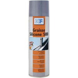 Graisse silicone 400ml 500ml qukf 6088 lubrification isolation protection