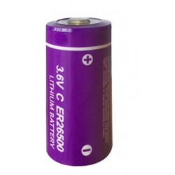 ER26500 lithium battery 3.6V 9000mAh c lisoci2 9000mAh 9ah 26500 ls26500 r14 lsa8500 sl770 lsh14 ls 26500