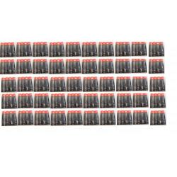 Lotto di 50x4 pile alcaline 1.5v lr06 aa am3 lr6 15a e91mn1500 815 4006 lr6ucalimentazione pila batterie