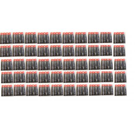 Pack 50 battery 1.5vdc alkaline battery, lr06 aa (4 pieces) am3 lr6 15a e91mn1500 815 4006