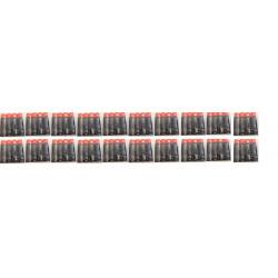 Lotto di 20x4 pile alcaline 1.5v lr06 aa am3 lr6 15a e91mn1500 815 4006 lr6ucalimentazione pila batterie