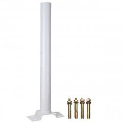 Mat 50cm support pour lampe solaire de rue 30w LS30W 60w ls60w et 90w ls90w ls120w ls240w ls360w