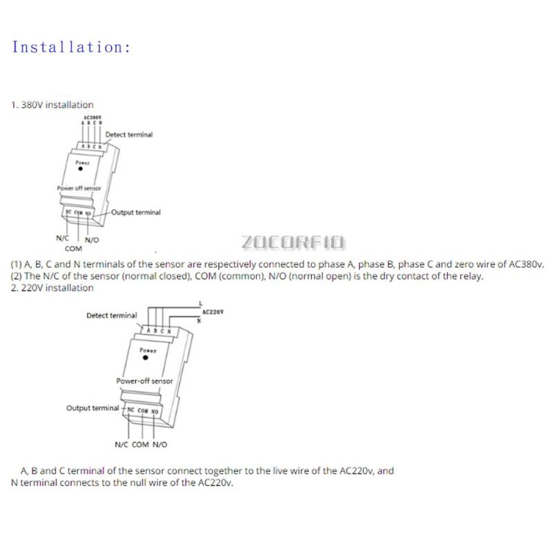 L'alarme De Panne De Courant Transformateur Lampadaire