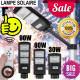 LED Street Light 30W Solar Radar PIR Motion Sensor Wall Lamp+Remote