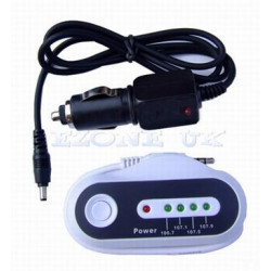 Wireless fm transmitter + car charger for mp3 mp4