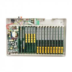 Central telephonique 16 lignes 80 postes analogique autocommutateur téléphone pabx standard autocom