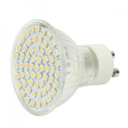 Ampoule gu10 60 led 3w spot 3000k blanc chaud 1.5w 2w 2.5w 3.5w 220v 240v eclairage lumiere