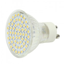 Gu10 white 60 led light bulb lamp