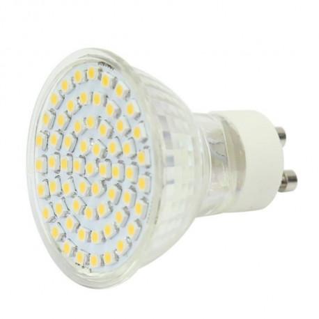 Gu10 white 60 led light bulb lamp