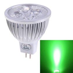 Mr16 12v led 5w lampadina verde illuminazione faretto a risparmio energetico