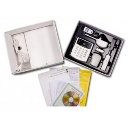 Sistema de segurança sem fios jk-16x com comunicador telefónico integrado ja-65x
