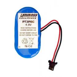 Batterie rechargeable 4,8v telephone sans fil wt3930,wt3990 pile sèche piles accus accumulateur