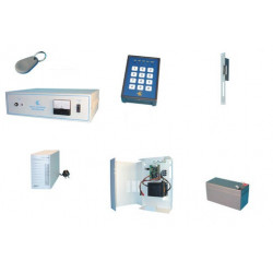 Acces control pack for 16 door by badge reader access control pack access control kit access control system alarm acces control