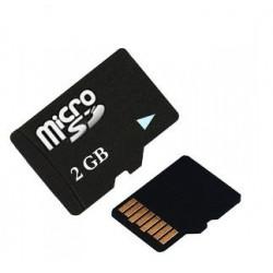 Carte micro sd tf 2go classe 4 grande vitesse card 2gb pour lunette espion video