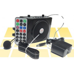 Portable Mini 8 Multi Microphone Megaphone Loudspeaker 3 in 1