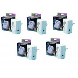 5 Blitzschutz einsteckbarer 220vac filter fernsehschutz schutz der gerate gegen gewitter blitzschutz blitzschutz