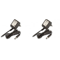 Lot de 2 adaptateurs 110v 220v 12v 1.2a 15w alimentation compatible 0.8a 0.9a 1a 1.1a pss1212