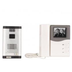 B w video intercom system build in