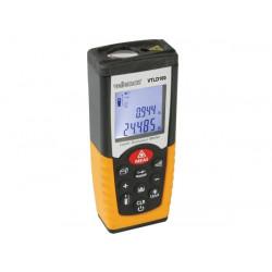 Télémètre à laser haute précision lcd memoire vtld100 50m max mesure distance velleman
