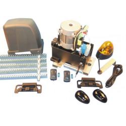 Kit motorizzazione professionale per cancello scorrevole 800kg pro 1010w aperture automatiche cancello