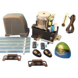 Kit motorizzazione per cancello scorrevole 800kg con ricevitore rb2f aperture automatiche cancello