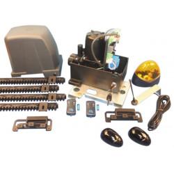Kit motorizzazione professionale per cancello scorrevole 400kg 610w cancelli automatici