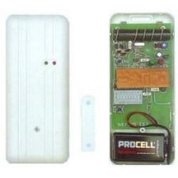 Detector wireless magnetic contact, 27.12mhz 30 100m alarm detector alarm sensor switches magnetic open door sirio sensors