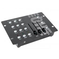 Controlador dmx mezcla rvb para foco alumbrado por led pilotaje sonido vdpc009