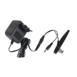 Emisor video 2.4ghz 10mw con conector bnc para camara con hilo avmod11txb transmision video sin hilo