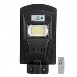 Lampione stradale solare 120w 117led 333000lm rilevatore di presenza sensore di movimento impermeabile ip65