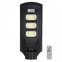 Lampione stradale solare 360w 351led 99900lm rilevatore di presenza sensore di movimento batteria ip65 impermeabile
