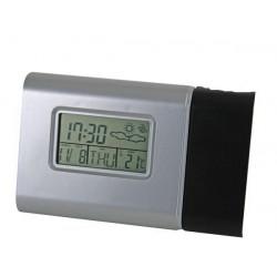 Uhr zeigt die uhrzeit alarm wt51 thermometer aräometer wettervorhersage