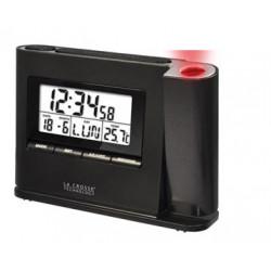 Allarme Radio parete soffitto orologio Time display della temperatura guida proiezione lacrosse