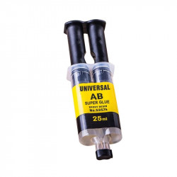 Universal strong glue ab liquid epoxy resin 25ml 2 min for glass Ceramic Plastic wood metal