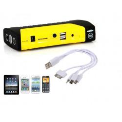 Alimentation Démarreur batterie voiture Multi-Function USB Indicateur urgence 300a 400a 500a 600a 50800mAh 12V