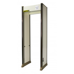 Portique securite detecteur de metaux 33 zones PD2000 aeroport banque hopital gare magasin