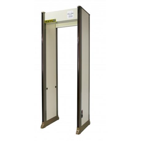Portique securite detecteur de metaux 33 zones PD2000 aeroport banque hopital gare magasin