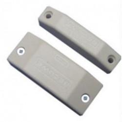 Detector surface mounting nc magnetic contact, cream nfa2p alarm sensor switches magnetic door sensors cream magnetic open door