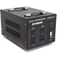 Convertisseur de tension electrique 5kw 110v 220v 5000w crête 6600w 240v vers 110v ou 220v st-5000