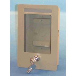 Caja encastrable con cerradura con clave por chapa de calle