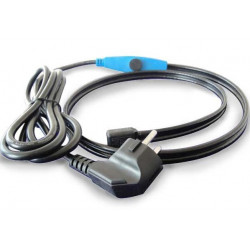 Antifreeze electric heating cable cord 1m shpt-1m pipe frost protection with water hose thermostat