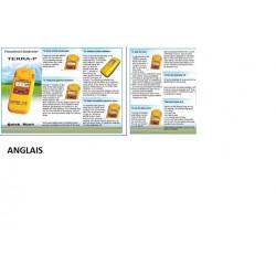 Notice en anglais pour compteur geiger muller detecteur radioactivite mks05 terra mks 05 p yellow