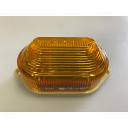 Flash alarme electronique xenon 12vcc ambre