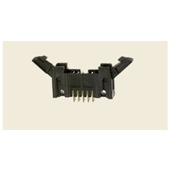 Connector antelec ctm-16-ds-dl male he10 right locking pin 0.64 mm 2.54 mm