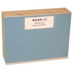 Caja metal autoprotegida para cartucho gas electrico ga12v o cartucho pimienta gp12v cajas metales autoprotegidas