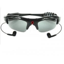 Spy camera sunglasses mp3 embarquee dv86 recording spy sun glasses listening