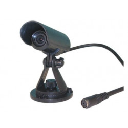 """Camera 1 3"""" b w waterproof camera + lens for m12s, m31s, m42q, 12vdc video monitor, channel selector video surveillance waterpro"""