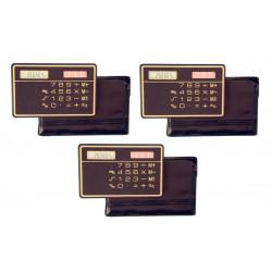 3 Calcolatrice a pannello solare calcolatrice solare