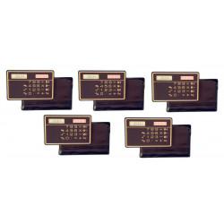 5 Calcolatrice a pannello solare calcolatrice solare